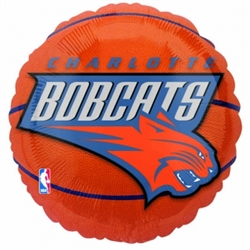 Charlotte Bobcats Metallic Balloons | Party Supplies