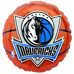 Dallas Mavericks Metallic Balloons | Party Supplies