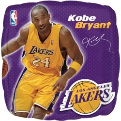 Kobe Bryant Metallic Balloons | Party Supplies