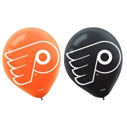 Philadelphia Flyers Printed Latex Balloons | Party Supplies