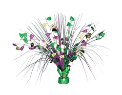 Mardi Gras Foil Spray Centerpiece | Table Decorations