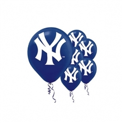 New York Yankees Latex Balloons
