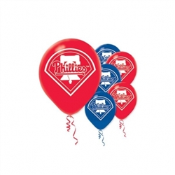 Philadelphia Phillies Latex Balloons | Party Supplies