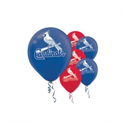 St. Louis Cardinals Latex Balloons | Party Supplies
