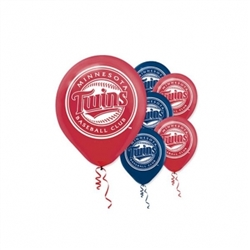 Minnesota Twins Latex Balloons | Party Supplies