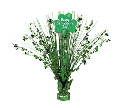 St. Patrick's Day Spray Centerpiece | St. Patrick's Day decorations