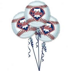Philadelphia Phillies 3-Pack Balloons | Party Supplies