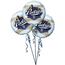 San Diego Padres 3-Pack Balloons | Party Supplies