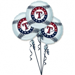 Texas Rangers 3-Pack Balloons | Party Supplies