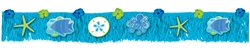 Summer Sea Fringe Banner | Luau Decorations