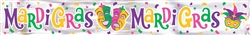 Mardi Gras Foil Banner | Party Decorations
