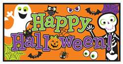 Halloween Family Friendly Large Horizontal Banner