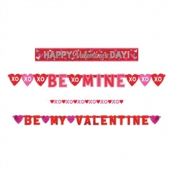 Valentine Value Pack Banners | Party Supplies