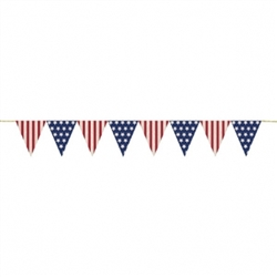 Americana Pennant Banner | Party Supplies