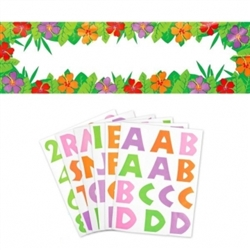 Summer Personalized Giant Sign | Luau Party Supplies