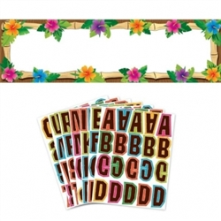 Luau Personalized Giant Sign | Luau Party Supplies