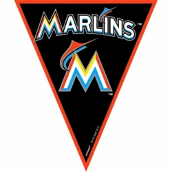 Miami Marlins Pennant Banner | Party Supplies