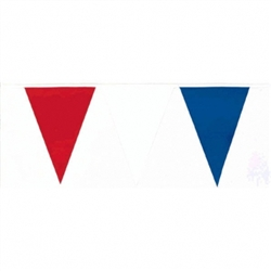 Patriotic Outdoor Pennant Banner | Party Supplies