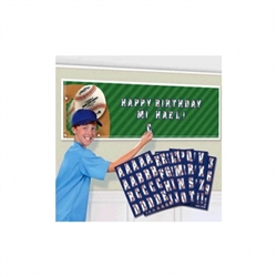 MLB Giant Customizable Banner | Party Supplies