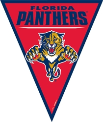 Florida Panthers Pennant Banner | Party Supplies