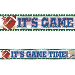 Football Foil Banner | Football Party Supplies