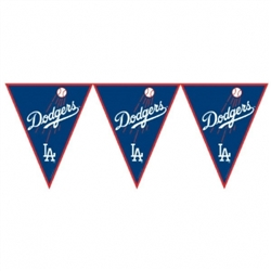 Los Angeles Dodgers Pennant Banner | Party Supplies