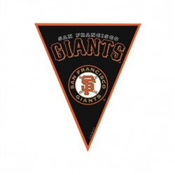 San Francisco Giants Pennant Banner | Party Supplies