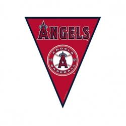 Los Angeles Angels Pennant Banner | Party Supplies
