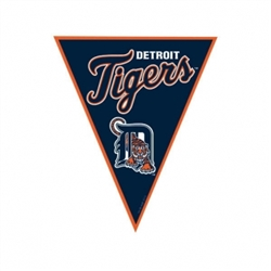 Detroit Tigers Pennant Banner | Party Supplies