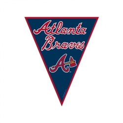Atlanta Braves Pennant Banner | Party Supplies