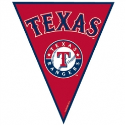 Texas Rangers Pennant Banner | Party Supplies