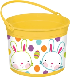 Easter Large Yellow Bucket | Party Supplies