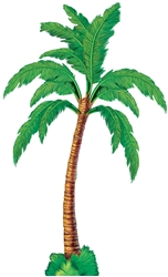Palm Tree Jointed Cutouts  | Luau Party Supplies