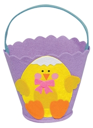 Purple Chick Basket | Easter