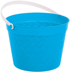Blue Weave Bucket | Easter