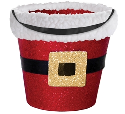Santa Bucket w/Cello | Party Supplies