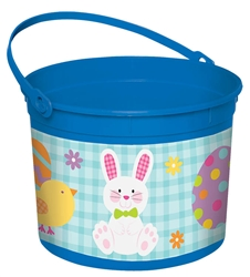 Boy Bunny Large Bucket | Party Supplies