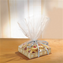 Kraft Treat Tray w/Cello Bag | Party Supplies