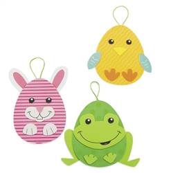 Easter Egg Character Ornament Craft Kit | Party Supplies
