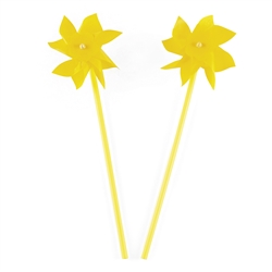 Yellow Pinwheels | Party Supplies