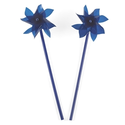 Blue Pinwheels | Party Supplies