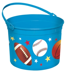 Easter Sports Large Bucket | Party Supplies
