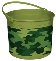 Easter Camouflage Large Bucket | Party Supplies