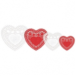 Valentine Doilies Multipack | Valentines decorations