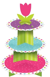 Spring Cupcake Stand | Party Supplies