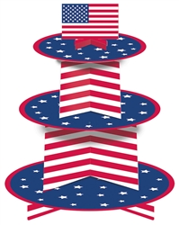 Patriotic Cupcake Stand | 4th of July Party Supplies