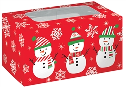 Snowman Treat Box | Party Supplies