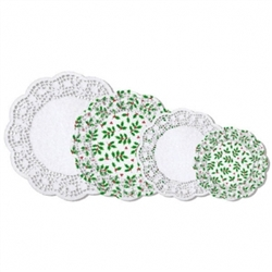 Holly Doilies Multipack | Party Supplies