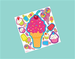 Sweet Treat Decal | Party Supplies