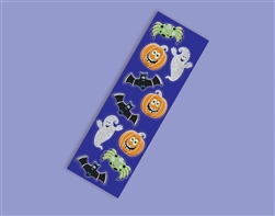 Cute Halloween Glitter Sticker Strips Favors